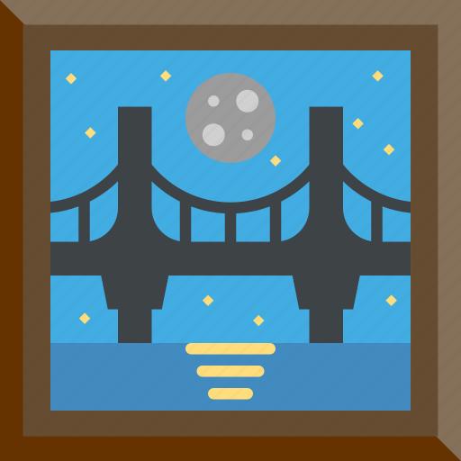 Architecture, bridge, landmark, romantic icon - Download on Iconfinder