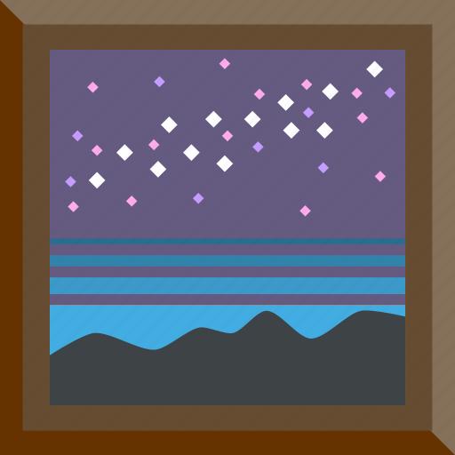 astronomy, meteor, meteor shower, staragaze icon