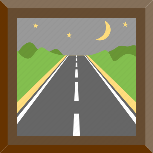 drive, picture, roadtrip, trip icon