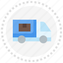 cargo, delivery, mover, truck, vehicle icon
