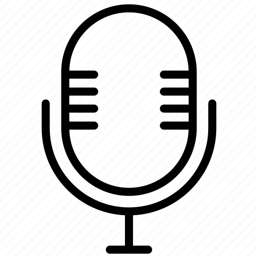 Electronic, mic, record, sing, voice icon - Download on Iconfinder