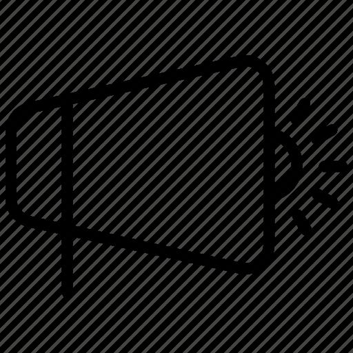 electronic, megaphone, voice icon