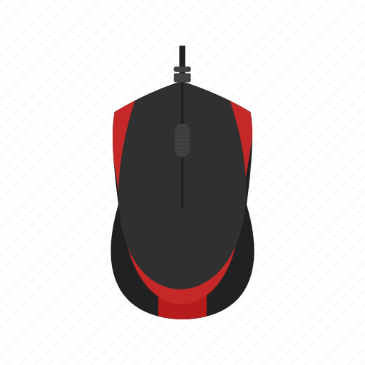 business, cable, equipment, mouse, technology icon
