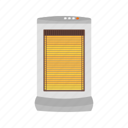 appliance, electric, heat, heater, home, winter icon