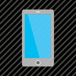 cellphone, hand, mobile, phone, screen, smart, smartphone icon