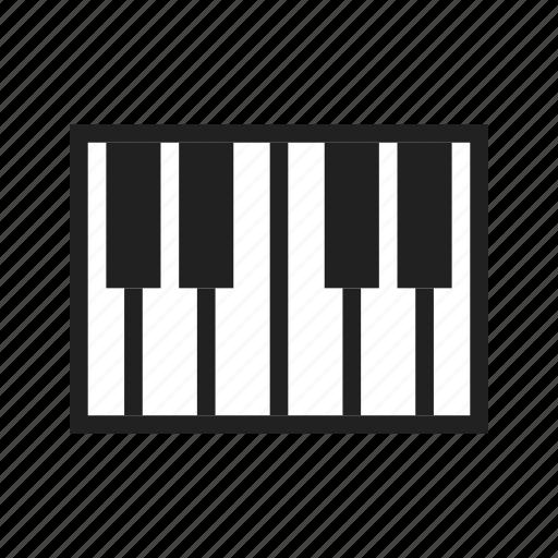 art, classic, jazz, keys, music, musical, piano icon