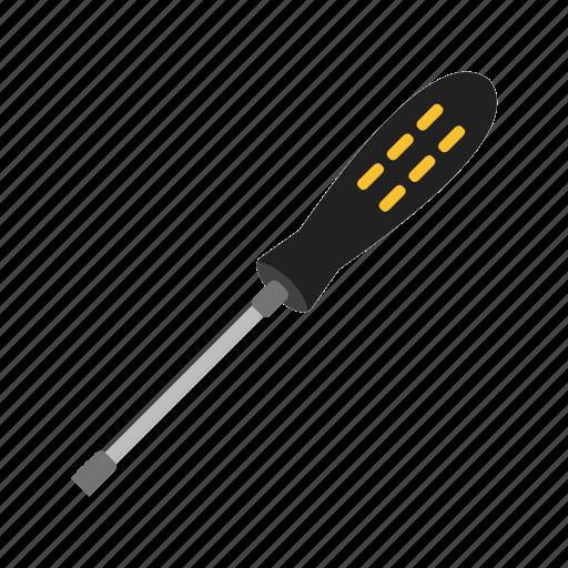 driver, kit, metal, screw, screwdriver, set, tools icon