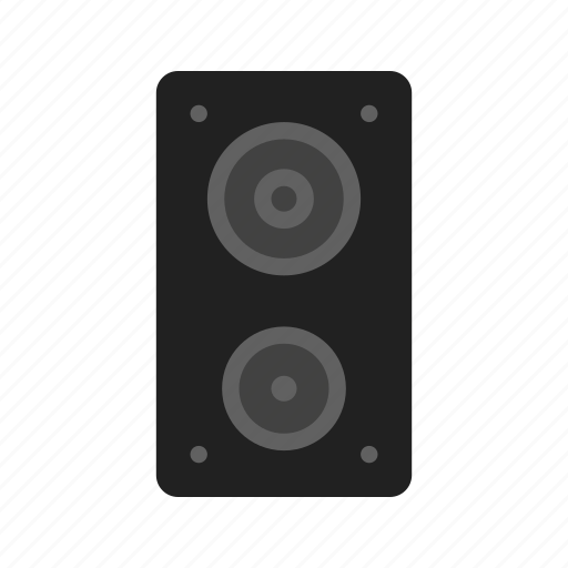 audio, music, sound, speaker, speakers, technology icon
