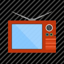 display, entertainment, monitor, screen, television, tube, tv icon