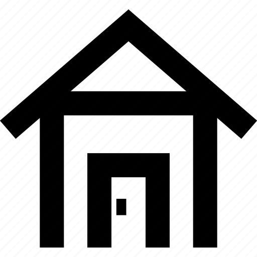 building, home, house, location icon