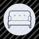 chair, furniture, household, households, seat, sofa