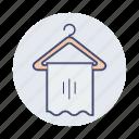 holder, towel icon