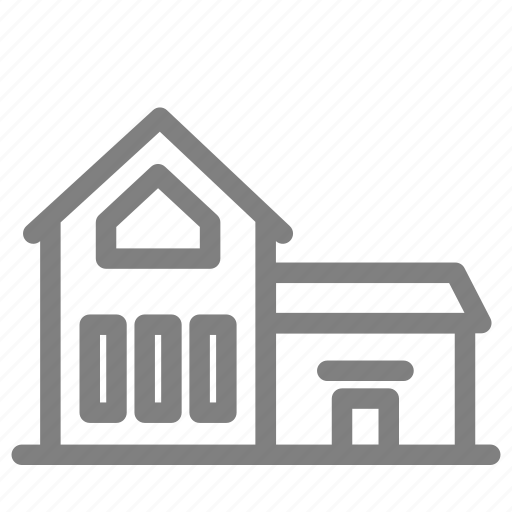 apartment, building, home, house, office, residence icon