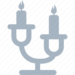 candles, candlestick, decorations, home icon
