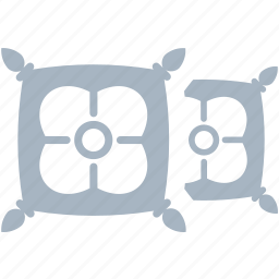 cushions, decorations, home, pillow, small icon