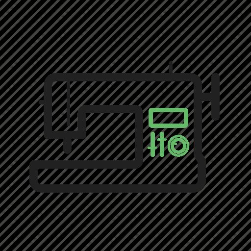 Craft, equipment, machine, metal, needle, sewing, thread icon - Download on Iconfinder