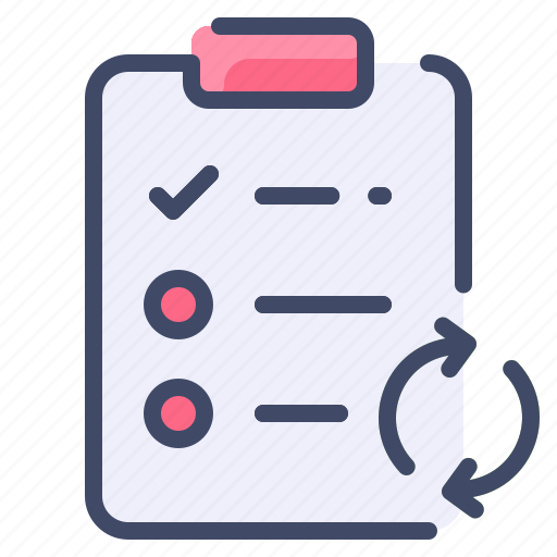 Clipboard, list, process, task, work icon - Download on Iconfinder