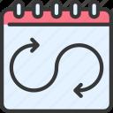 flexible, schedule, flexibility, arrows, calendar, date