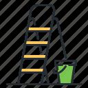 ladder, repair, stepladder, tool