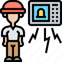 burglar, alarm, security, alert, thief