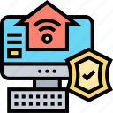 cybersecurity, protection, network, connection, home
