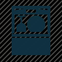 cleaning, dishwasher, kitchen, service icon
