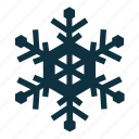 cold, snowflake, winter icon