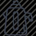 boiler, cauldron, kettle, teakettle icon