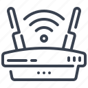 router, wlan, fidelity, modem, wireless icon