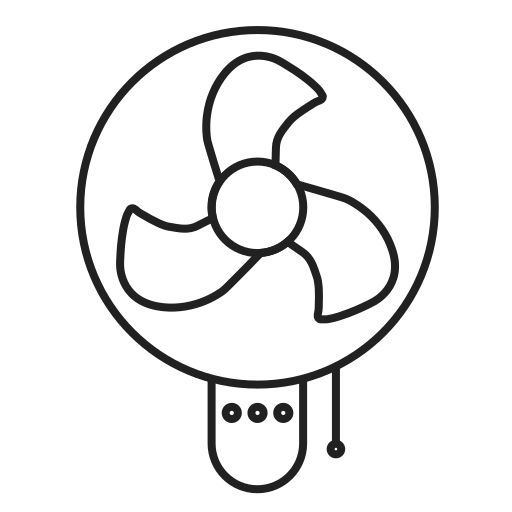 air, conditioner, conditioning, cooler, fan icon