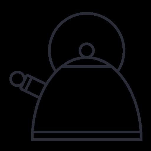 kettle, kitchen, pot, tea icon