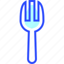 appliances, fork, home, homeware, house icon