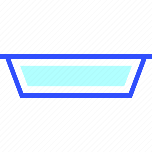 House, plate, appliances, homeware, home icon