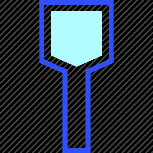 Wooden, house, spatula, appliances, home, homeware icon