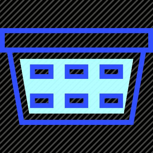 Laundry, house, appliances, basket, home, homeware icon