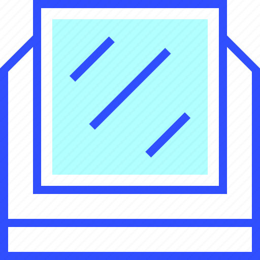 appliances, home, homeware, house, mirror icon