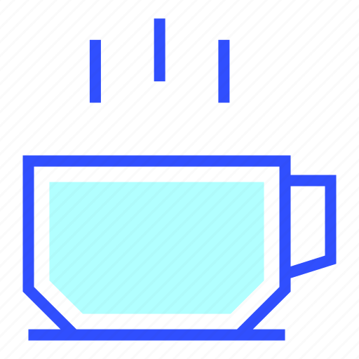 House, cup, appliances, homeware, home icon