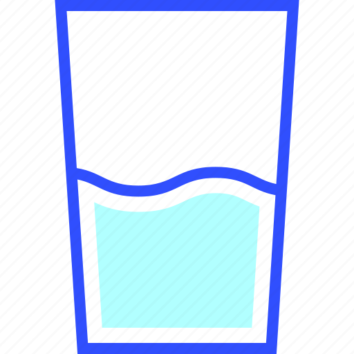House, water, glass, appliances, of, home, homeware icon
