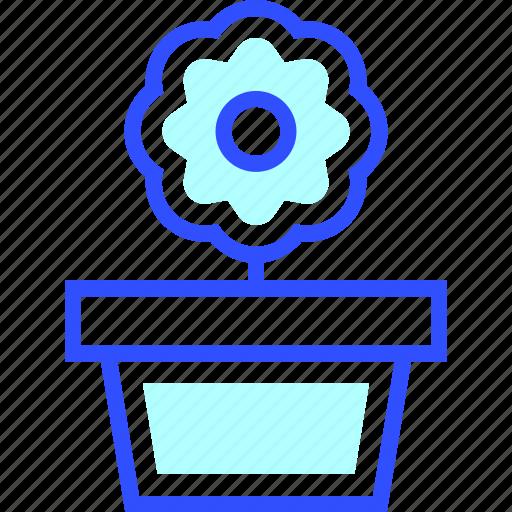 appliances, flower, home, homeware, house icon