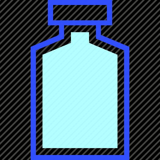 Bottle, house, empty, appliances, home, homeware icon