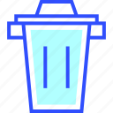 appliances, home, homeware, house, trash icon
