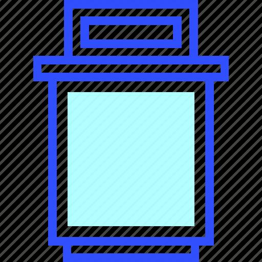 Bin, home, appliances, homeware, house icon