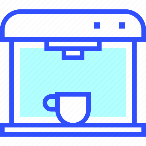 appliances, coffee, home, homeware, house, maker icon
