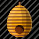 beehive, behive, honey, natural, nature, tree