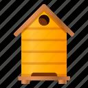 bee, beehive, cute, drawing, hive, honey