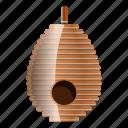 beehive, fly, food, honey, house, tree