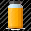 container, glass, honey, jam, jar, label