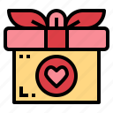 birthday, gift, present, surprise icon