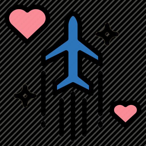 Airport, flight, plane, travel icon - Download on Iconfinder
