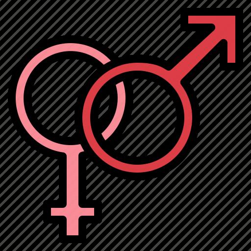 Female, gender, male, sex icon - Download on Iconfinder